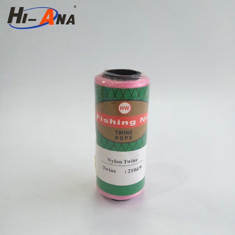 HI-ANA best quality high tenacity 100% polyester 210D/9 fishing